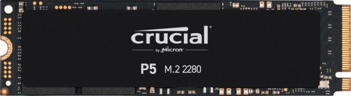 Накопичувач SSD 2TB Crucial P5 M. 2 2280 NVMe PCIe 3.0 x4 TLC 3D NAND (CT2000P5SSD8) - зображення 1