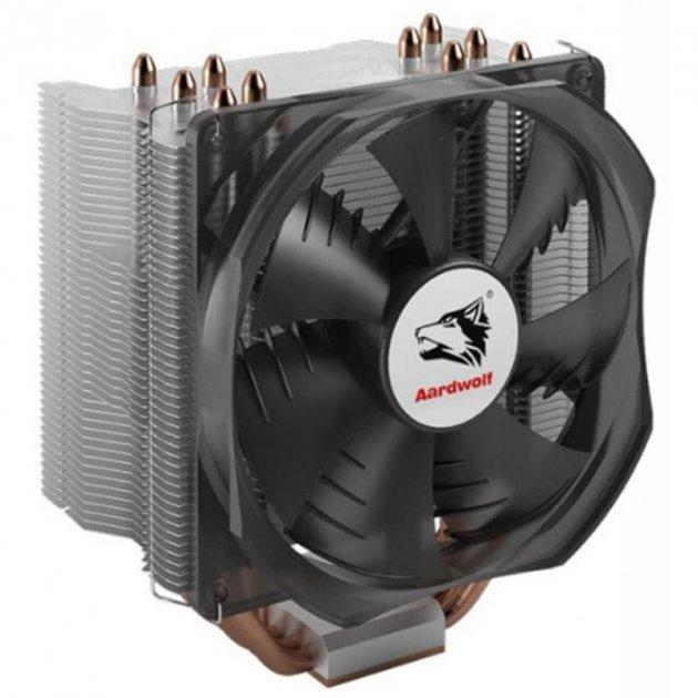 Кулер процессорный Aardwolf Performa 10X (АPF-10XPFM-120), Intel: 2066/2011/1366/1156/1155/1511/1150/775, AMD: 754/939/940/FM1/AM3+/AM3/AM2+/AM2/AM4, 151х131х96.5 мм, 4-pin - зображення 1