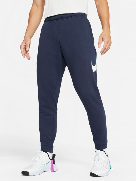 Спортивні штани Nike M Nk Df Pnt Taper Fa Swsh CU6775-452 M (194501801126) - зображення 1