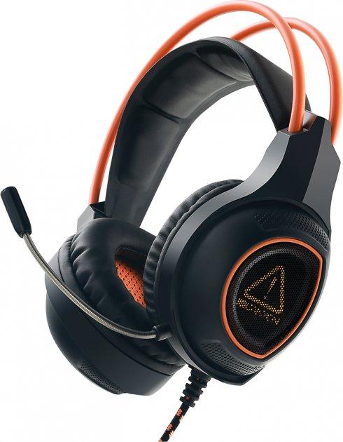 Ігрові навушники Canyon Nightfall Black/Orange (CND-SGHS7) - зображення 1