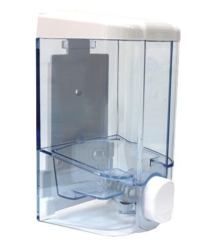 Дозатор мыла или шампуня Vialli 0.5 л прозрачный (S2T) - изображение 1