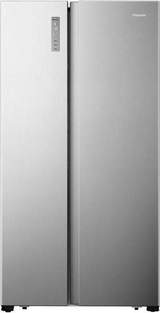 Side-by-side холодильник Hisense RS677N4ACF - изображение 1