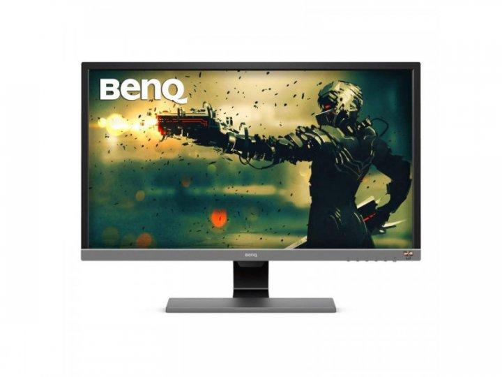 Монітор BenQ EL2870UE Metallic Grey (9H.LGTLB.FSE) - зображення 1