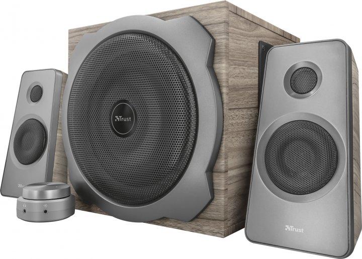 Акустична система Trust Tytan 2.1 Speaker set wood (TR23290) - зображення 1