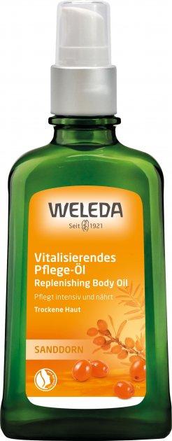 Масажна олія Weleda Обліпиха 100 мл (4001638500784) - зображення 1