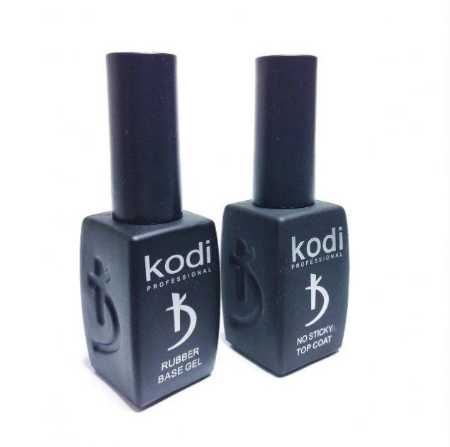 Набір Kodi Professional База + Топ каучуковий без липкого шару 8 ml - зображення 1