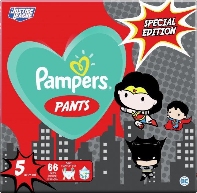 Подгузники-трусики Pampers Pants Special Edition Размер 5 (12-17 кг) 66 шт (8001841968292)