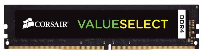 Пам'ять DDR4 4Gb, 2666 MHz, Corsair, 18-18-18, 1.2 V (CMV4GX4M1A2666C18) - зображення 1