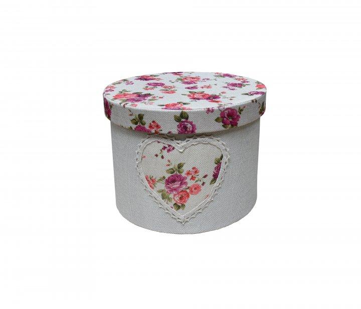 Короб із кришкою Handy Home Квіти 25х18 см (FB-23) - зображення 1