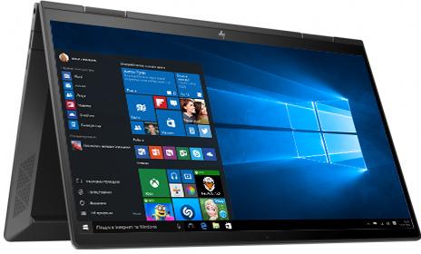 Ноутбук HP Envy x360 Convertible 13-ay0016ua (423U2EA) Nightfall Black - зображення 1