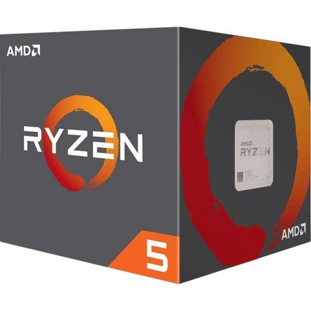 Процесор AMD Ryzen 5 2600 3.4GHz/16MB (YD2600BBAFBOX) sAM4 BOX - изображение 1