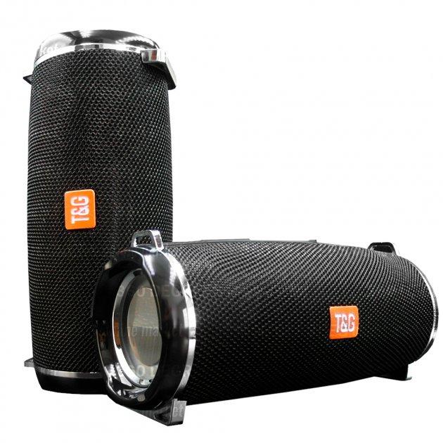 Bluetooth-колонка с LED подсветкой TG-165 10W 1200mAh Черный - изображение 1