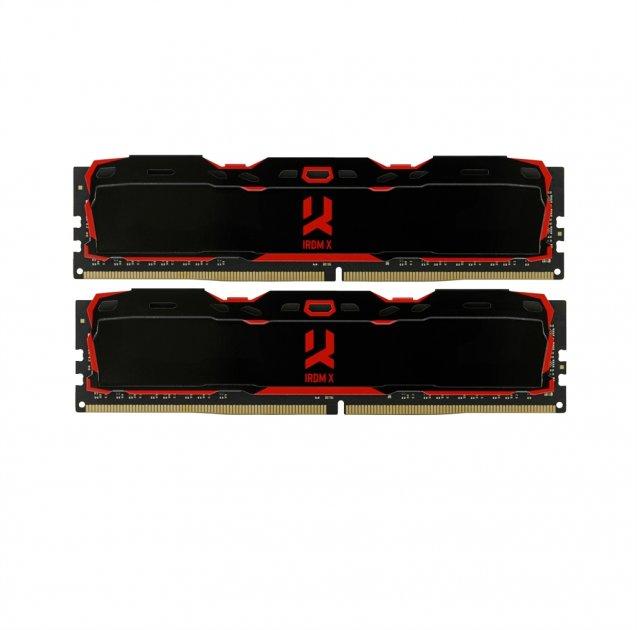 Модуль памяти DDR4 2x8GB/2666 GOODRAM Iridium X Black (IR-X2666D464L16S/16GDC) - изображение 1