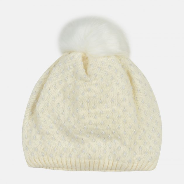 Зимняя шапка Lenne Mona 18391A/100 52 см Белая (4741578251703) - изображение 1