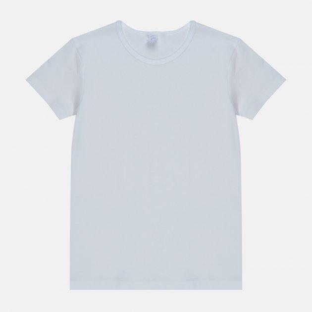 Футболка НатаЛюкс 21-3302 32 (3) 116 см Белая (2133023200031) - изображение 1