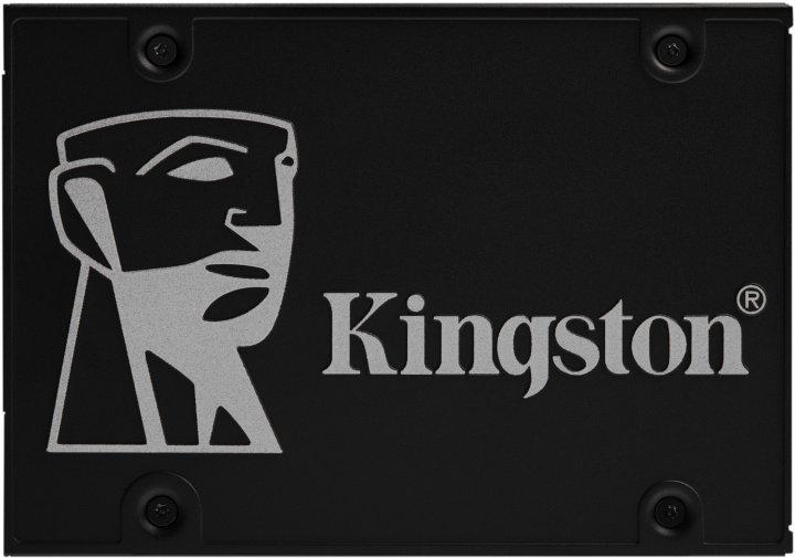 "Kingston SSD Upgrade Kit KC600 1TB 2.5"" SATAIII 3D TLC (SKC600B/1024G) - зображення 1"