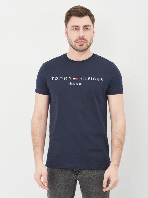 Футболка Tommy Hilfiger 10615.1 XL (50) Темно-синяя - изображение 1