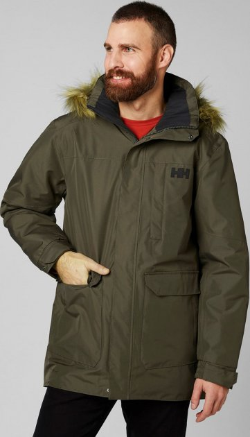 Куртка Helly Hansen Dubliner Parka 54403-482 M Beluga (7040055676877) - зображення 1