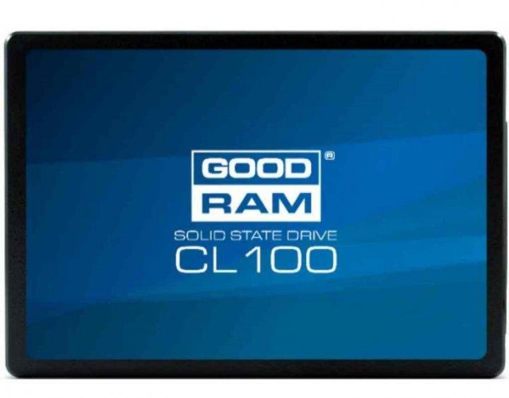 """Накопичувач SSD GooDRam 120GB (2.5"""", SATA, SSDPR-CL100-120) - зображення 1"""