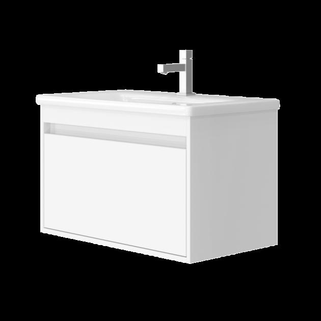 Тумба Juventa Malta 80 з умивальником Soft 80 Білий - изображение 1