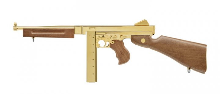 Пистолет пневматический Umarex LEGENDS M1A1 Legendary Gold (5.8391) - зображення 1
