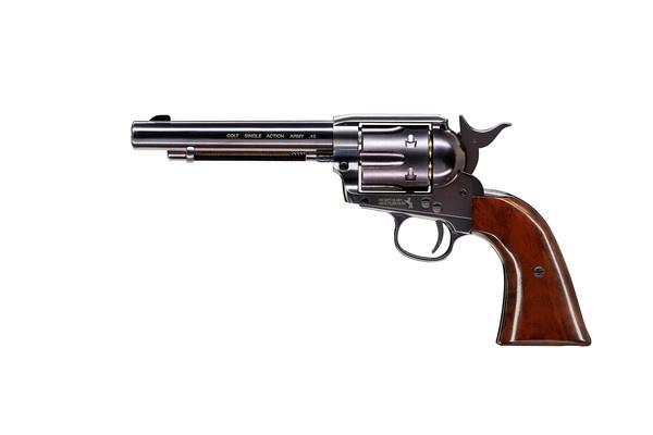 "Пістолет пневматичний Umarex Colt SAA .45-5.5"" pellet Blue finish (5.8321) - зображення 1"