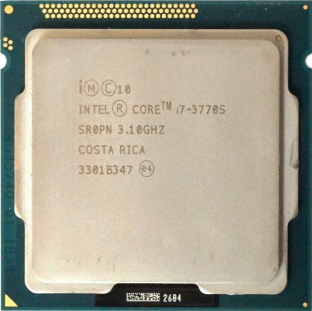 Процесор Intel Core i7-3770S 3.10 GHz/8MB/5GT/s (SR0PN) s1155, tray - зображення 1