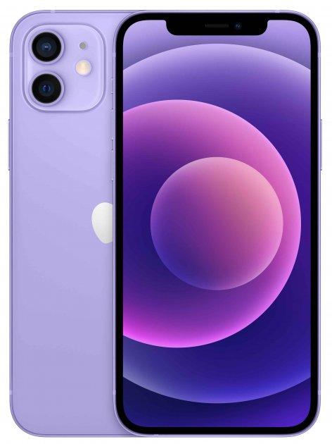 Мобильный телефон Apple iPhone 12 64GB Purple Официальная гарантия - изображение 1
