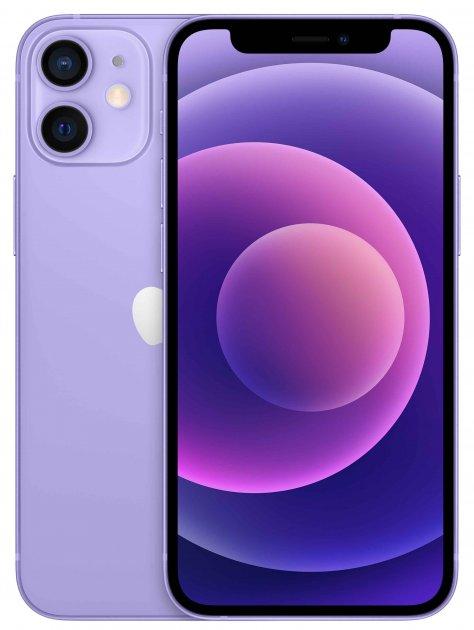 Мобильный телефон Apple iPhone 12 mini 64GB Purple Официальная гарантия - изображение 1