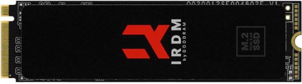 Твердотільний диск SSD M. 2 256GB Goodram IRDM PCIe Gen 3x4 3D NAND (IR-SSDPR-P34B-256-80) - зображення 1