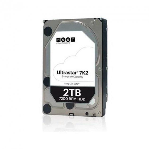 Накопичувач HDD SATA 2.0 TB WD Ultrastar 7K2 7200rpm 128MB (HUS722T2TALA604/1W10002) - зображення 1