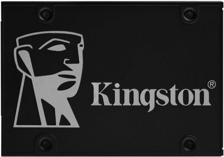 """Kingston SSD KC600 512GB 2.5"""" SATAIII 3D NAND TLC (SKC600/512G) - зображення 1"""