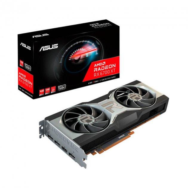 Відеокарта AMD Radeon RX 6700 XT 12GB GDDR6 Asus (RX6700XT-12G) - зображення 1