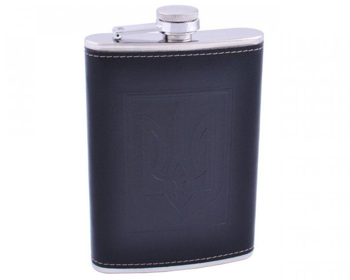 Фляга Flask Steel c гербом 265 мл FB-9-2 - изображение 1