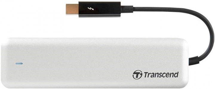 Transcend JetDrive 855 480GB M.2 Thunderbolt PCIe 3.0 x4 3D NAND TLC для Apple (TS480GJDM855) - зображення 1