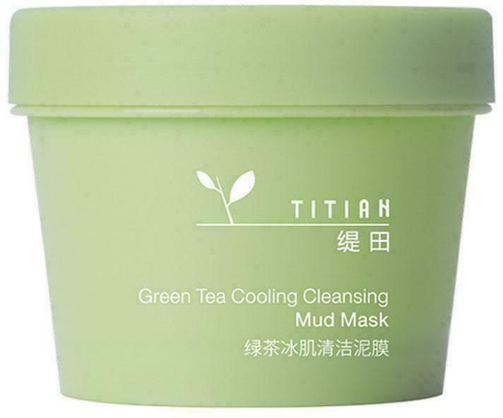 Охлаждающая очищающая грязевая маска Bioaqua Green Tea Cooling Cleansing Mud Mask с зеленым чаем 100 г (6972696991853) - изображение 1