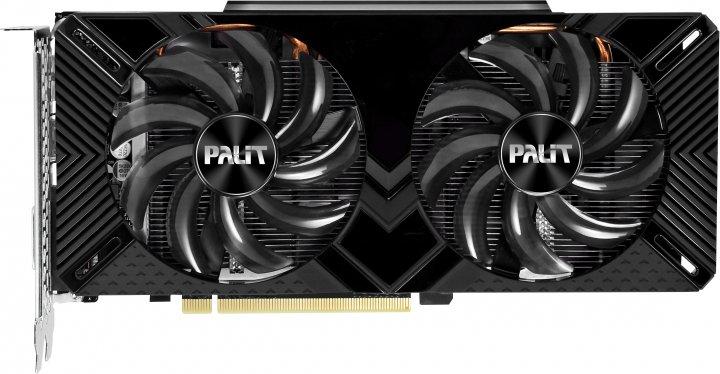 Palit PCI-Ex GeForce GTX 1660 Super GamingPro OC 6GB GDDR6 (192bit) (1530/14000) (DVI, HDMI, DisplayPort) (NE6166SS18J9-1160A-1) - изображение 1