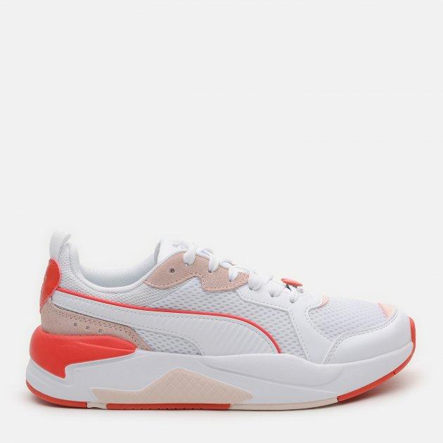Кросівки Puma X-Ray Game Wmn s Valentine s 36885701 37 (4) 23 см Puma White-Puma White-Cloud Pink-Poppy Red (4063697787490) - зображення 1