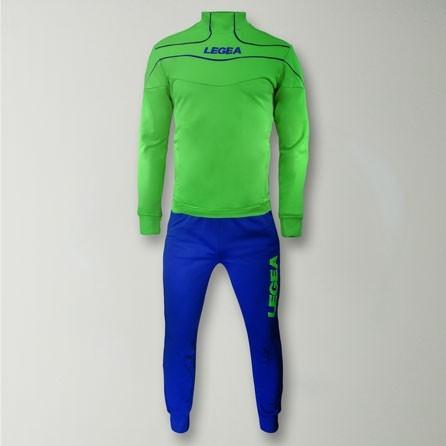 Тренировочный костюм Legea Tuono Nigeria T078 3XS Green - изображение 1