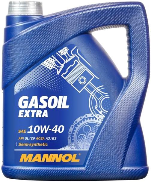 Моторное масло Mannol Gasoil Extra 10W-40 4 л (557/4) - изображение 1
