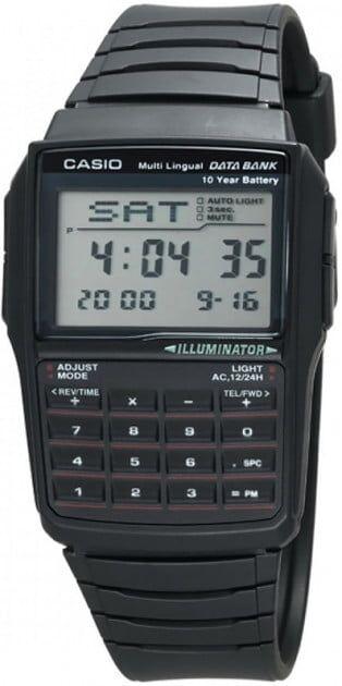 Чоловічі Годинники Casio DBC-32-1AES - зображення 1