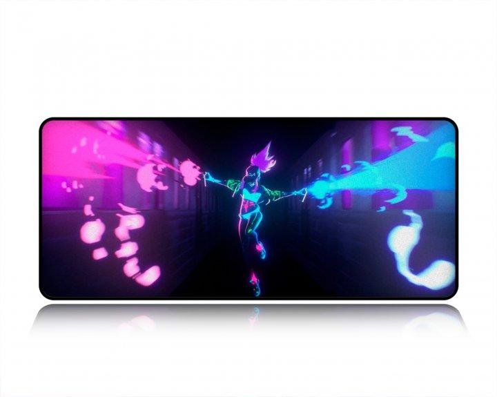 Игровая поверхность WorkPlaceShop GAME LEAGUE OF LEGENDS AKALI 300х500 мм - зображення 1