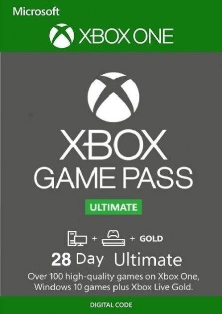 Xbox Game Pass Ultimate - 28 днів (Xbox One/Series и Windows 10) підписка для всіх регіонів і країн - зображення 1