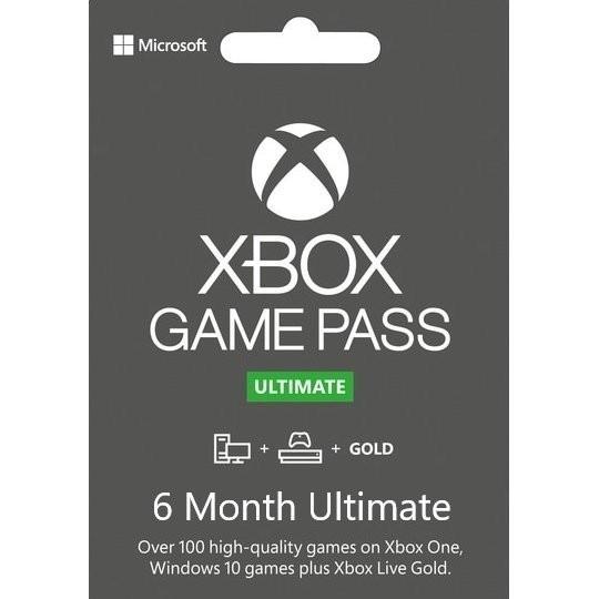 Xbox Game Pass Ultimate - 6 месяцев (Xbox One/Series и Windows 10)подписка для всех регионов и стран - изображение 1