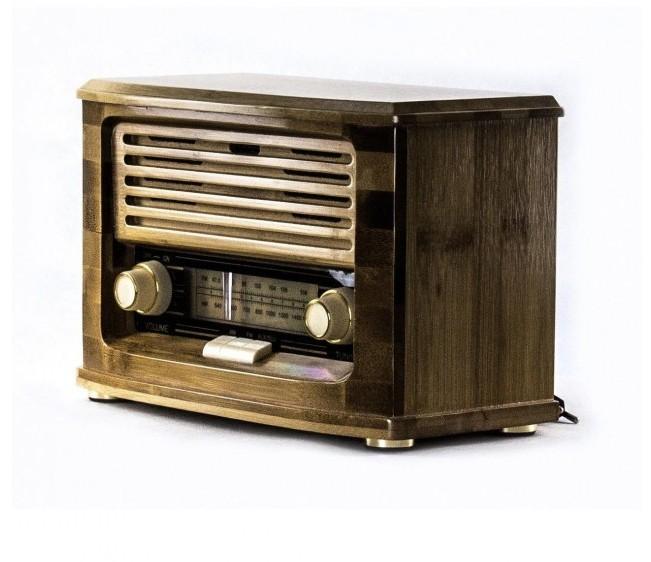 Ретро музичний центр Ретро програвач і радіо Daklin Ретро Хвиля (FM/USB/Bluetooth) - зображення 1