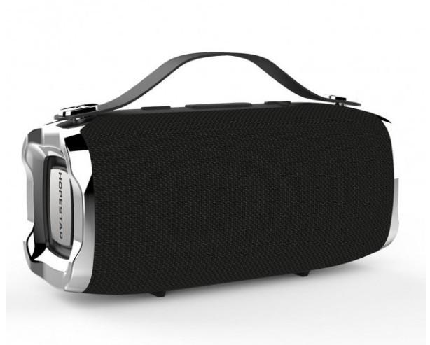 Портативна Bluetooth колонка Hopestar H36 bluetooth з мікрофоном Чорний - зображення 1