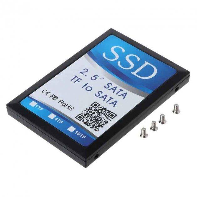 SSD диск-адаптер для 4 micro SD карт SATA SV0082 - зображення 1