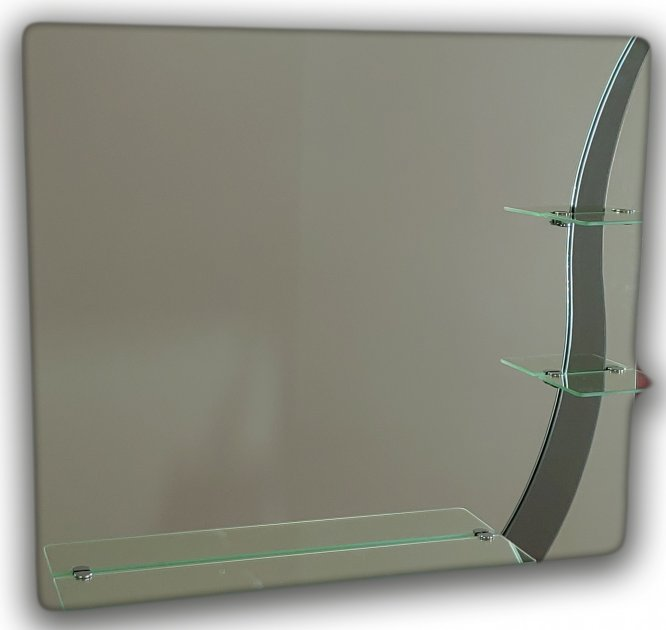 Зеркало с узором квадратное Seria A №49 (687х600х120) - изображение 1