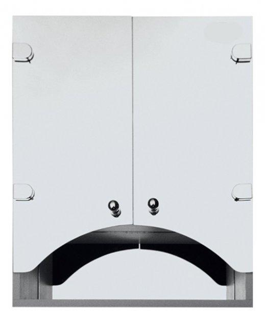 Дзеркальна шафа у ванну Seria A № А07-60 з фасадами у вигляді арки - зображення 1