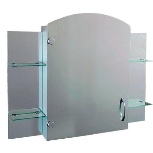 """Зеркальный шкаф с открытыми полками Seria A """"Эконом"""" №69 (650 x 800 x 130) - изображение 1"""